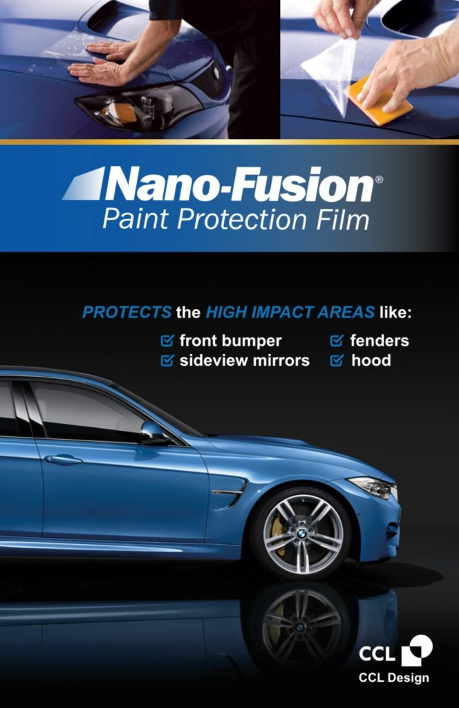 CCL Nano-Fusion Paint Protection Film Brochure