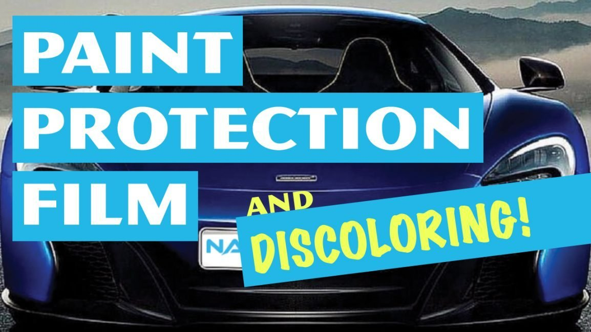 Paint Protection Film Stain Resistance Using the Mustard Test - CCL Nano-Fusion Paint Protection Film